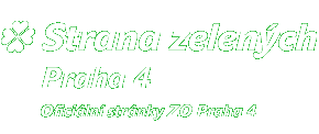 Strana Zelených – ZO Praha 4